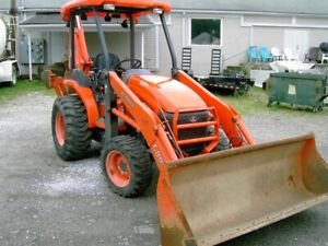 Heavy Equipment Backhoe L39 Kubota 4 Wd 532 Hours Ready To Work