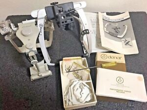 Denar Dental Lab Adjustable Articulator With Wrench Facebow Other Accessories