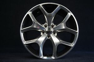 1 Genuine Dodge Challenger R T Charger 20 Inch Wheel Rim Two Tone Oem