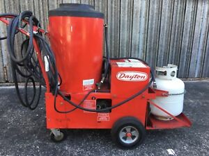 Dayton Pressure Washer Propane Hot Water Steam Cleaner Has Hypro 5320c hrx Pump