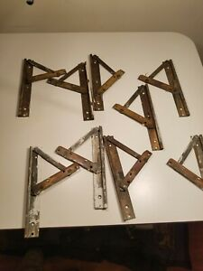 Antique Vintage Brass Awning Window Hinges Whitco Co
