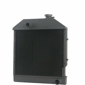 Tractor Radiator Fits Ford New Holland 250c 260c 3230 3430 late 3930 4130 4630