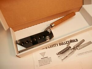 Lee commercial quality 6 cavity bullet mold 22 Bator new in box