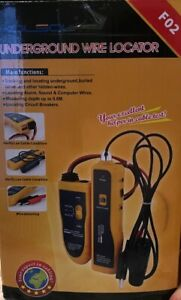 New In Box Underground Cable Wire Locator Tracker With Earphone