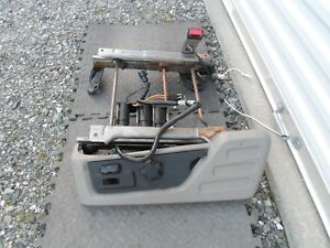 2008 2010 Ford Super Duty F250 F350 Power Seat Track W switch Driver 08 09 10