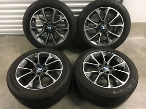 Free Shipping Bmw X5 Wheels 19 Style 449 Great Condition Factory Oem Michelin