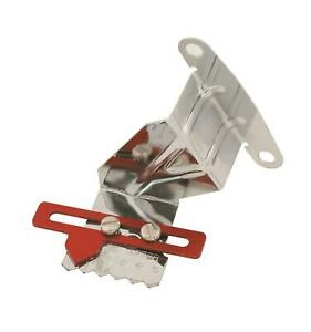 Mr Gasket Timing Pointer Steel Chrome Red 7 Balancer Chevy Small Block Each