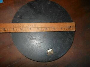 Vintage Antique Cast Iron Wood Stove Burner Top Plate Cover 8 1 4