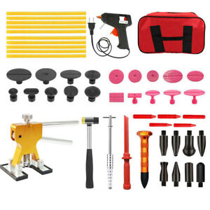 51pc Auto Hail Dent Repair Puller Paintless Dent Removal Tools Kit