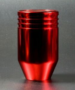 Ssco Piston 275 Grams Red Shift Knob Weighted M12x1 25mm Short Shifter