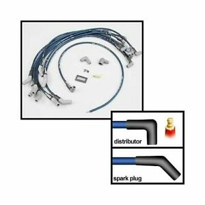 Moroso Spark Plug Wires Ultra 40 Spiral Core 8 65mm 45 Degree Boots 73674
