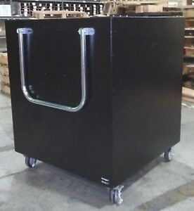 Duralight Commercial Library Under Counter Spring Loaded Transportation Cart