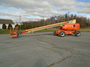 2007 Jlg 800s 80 Boom Lift 80ft Man Lift Manlift Straight Stick Boomlift