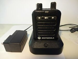 Motorola Minitor Vi Minitor 6 Pager Vhf Fm With Free Programming