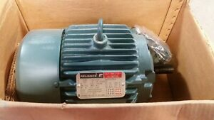 nos Reliance A c Electric Motor 5hp 184t 3 Phase 1730 Rpm P18g312 S2