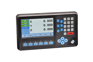 Large 7 Lcd Digital Readout db9 Ttl Digital Readout For Lathe milling Machine