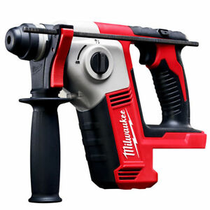 New Milwaukee 2612 20 M18 18 volt 5 8 inch Sds Plus Rotary Hammer W Depth Rod