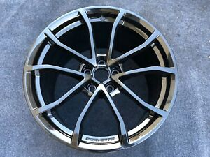 1 Chevrolet Corvette Grand Sport Rear Wheel Oem Factory Rare
