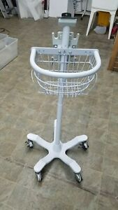 Welch Allyn 4700 Series Rolling Stand cart For Vitals Monitor