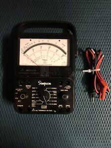 Simpson 260 Series 8 Volt Ohm Milliammeter Multimeter