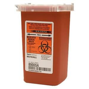 3 Pack Sharps 1 Quart Container Biohazard Needle Disposal 1 Qt Dr Tattoo Sharp