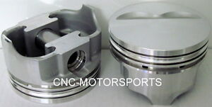 Ic9931 040 Icon Fhr Forged Flat Top Pistons Sbc 4 060 Bore 3 75 Stroke 5 7 Rod
