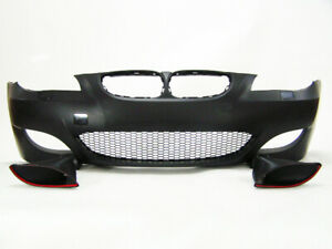Bmw 5 Series E60 04 07 M5 Style Air Duct Type Front Bumper Without Pdc
