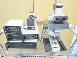 Vickers Instruments Microcam Fibre Launch Illuminator Microscope