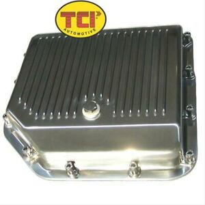 Tci Auto Automatic Transmission Pan Stock Capacityaluminum Polished Gm Th350 Ea