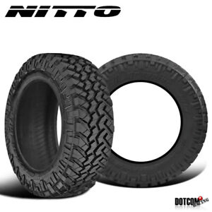 2 X New Nitto Trail Grappler M T 295 70r17 121 118p Off Road Traction Tire