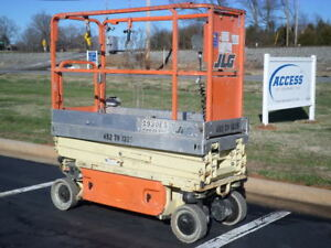 2012 Jlg 1930es 19 Electric Slab Scissor Lift Manlift 19ft Platform Lift