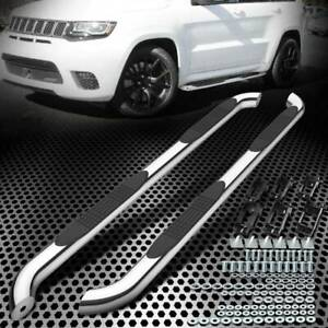 Fit Jeep Grand Cherokee 2011 2018 Running Board Side Step Round Nerf Bars Chrome