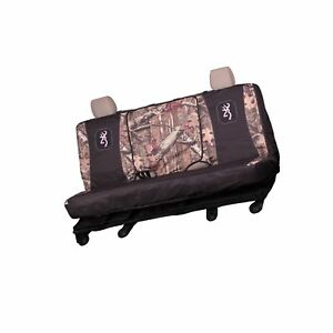 Browning Camo Full Size Bench Seat Cover