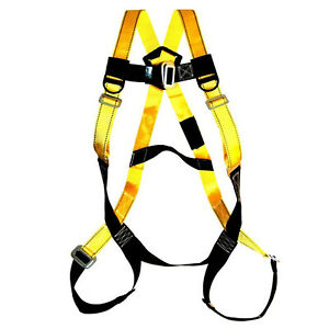 Fall Protection Harness Body Strap Safety Emergency Construction Equipment