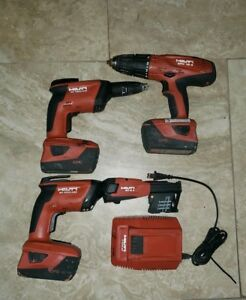 Hilti Sd 4500 a18 With Charger And 3 Batteries