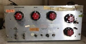 Vintage Rutherford Electronics Co Pulse Generator B7b Parts Only