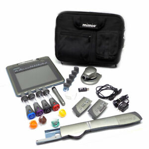 Mimio Rck m01 Graphics Pen Tablet Virtual Ink Capture System With Case