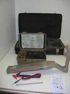 Ditch Witch Subsite 75 Cable Pipe Wire Utility 33k Sonde Locator Rycom Goldak