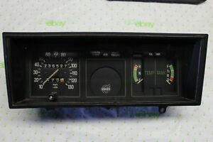 Volvo 140 240 Early Instrument Gauge Cluster Speedometer Works