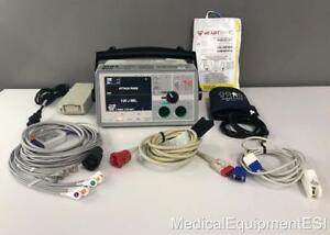 Zoll E Series Biphasic 12 Lead Spo2 Nibp Etco2 Aed Pacing Bls