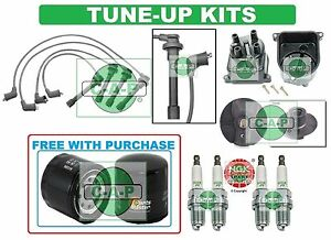 Tune Up Kits For 96 00 Civic Spark Plugs Filter Wire Set Dist Cap