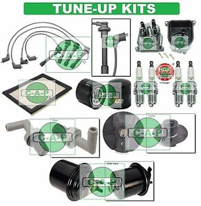 Tune Up Kits For 96 00 Civic Spark Plugs Filters Wire Set Dist Cap