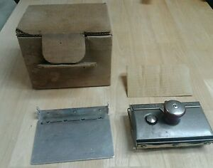 Buy It Now Vtg Heyer Model 60 Portable Postcard Ink Printer Well Blotter