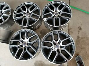 Ford Explorer 2016 2019 Factory Oem Wheels 20 Rims Set Of4 Charcoal Machined