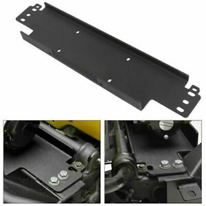 Winch Mounting Plate For 1987 2006 Jeep Wrangler Yj Tj 12000 Lb Capacity