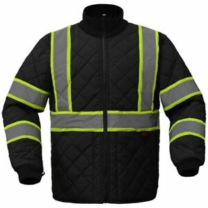 Quilted Safety Jacket Gss 8007