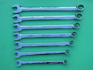 Snap On Oex707b Sae Wrench Set 3 8 3 4 Flank Drive Oex12b Oex24b Freeship
