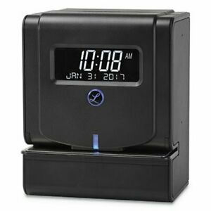 Lathem Time Heavy duty Thermal Time Clock Charcoal lth2100hd