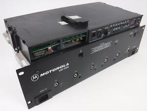 Motorola Msf 5000 Uhf Base Station Repeater With Remote Control