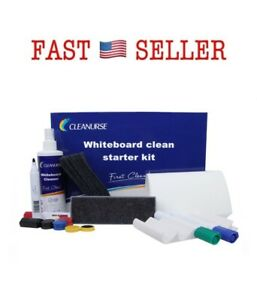 Cleanurse Whiteboard Cleaner Dry erase Markers Accessory Kit With Eraser Refill